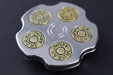 Gros revolver barillet boucle de ceinture pistolet
