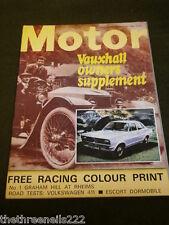 MOTOR MAGAZINE - ESCORT DORMOBILE - NOV 23 1968