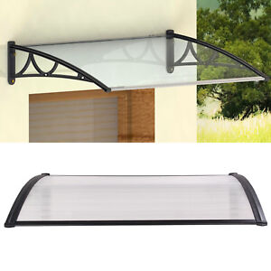 3 size Door Awning Shelter canopy awning roof front seat back outdoor awning UK