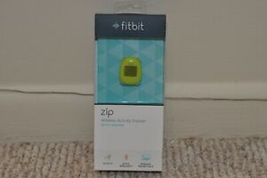 NEW FITBIT ZIP LIME GREEN WIRELESS ACTIVITY TRACKER Brand New Sealed Never Open