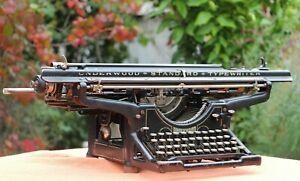 Antique Underwood Typewriter - Excellent Condition - Full working Order