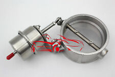 3.5''89MM BOOST ACTUATE ENGINE ROAR SOUND EXHAUST BYBASS GATE STAINLESS STEEL