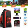 Gaming PC Bundle Intel Core i5 3.1GHz Win10 GT710 16GB RAM 128GB SSD 1TB Cheap