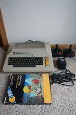 RARE Vtg Atari 800 Computer w/ Power Supply, 2 Joysticks & PacMan Game
