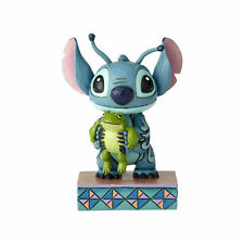 Jim Shore Disney Traditions Stitch Personality Pose with Frog 4059741 New