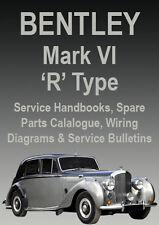 BENTLEY MARK VI R Type WORKSHOP MANUAL: 1946-1955