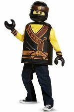 New Lego The Ninjago Movie Cole Child Costume Small 4-6