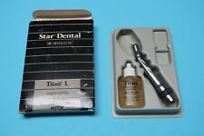 Star Fiber Optic Dental Titan L Handpiece 5000 Rpm Lube Free Amp 3 Month Warr