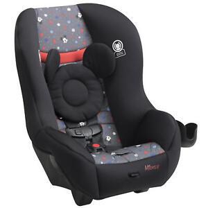 Disney Baby Scenera NEXT Luxe Convertible Car Seat, Mickey Indigo Dreams NEW