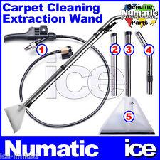 NUMATIC GEORGE VACUUM CLEANER CARPET CLEANING SHAMPOO FISHTAIL TRIGGER TUBE TOOL