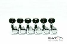 Graph Tech PRN-2731-C0 Ratio 2-Pin Electric Guitar Tuning Machine Head 6 in line