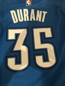 KEVIN DURANT SIGNED AUTOGRAPHED GOLDEN STATE WARRIORS JERSEY