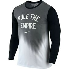 New Nike Ab Basketball All Star Long Sleeve T-Shirt Rule The Empire Sz L Logo