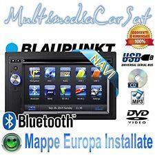 Blaupunkt New York 845 Autoradio Doppio Din GPS Navigatore CD DVD USB Vivavoce