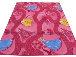 Kinderteppich Teppich Spielteppich Mädchen Prinzessin Celebration pink nach Maß