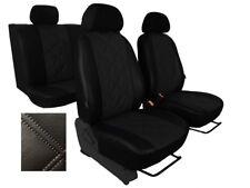 Universal Cuero Eco-juego completo de fundas de asiento de coche Peugeot 106, 206, 207, 208, 306