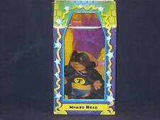 "5""1998 Purple Hair Masked Hero The Original San Francisco Toymakers Nos W514"