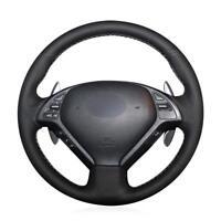 Leather Steering Wheel Cover for Infiniti G25 G35 G37 QX50 EX25 EX35 EX37  08-13