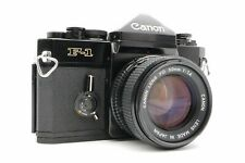 <Near Mint> Canon Slr F-1 Late Type w/ Nfd 50mm F/1.4 lens Mf From Japan #8263