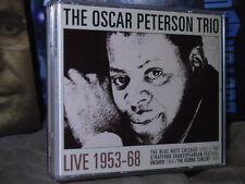 VERY RARE Oscar Peterson Trio Live 3CD Set Chicago 1953 Ontario 1956 Vienna 1968