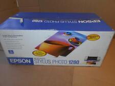 Epson Stylus Photo 1280 Inkjet Printer Silver ~