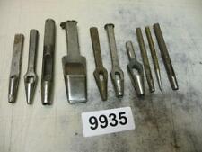 9935. Konvolut altes Schuster Werkzeug Locheisen