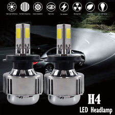 Combo H4 3-side HID LED Headlight Conversion Kit Hi/Low Beam Bulbs ALL-IN-ONE