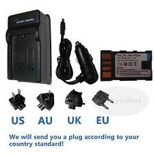 Battery + Charger for JVC Everio GZ-HD30U GZ-HD40U GZ-HD300U GZ-HD320U Camcorder
