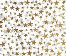 Gold Star Tissue Paper # 233 / Gift Wrap - Wedding, 50th Anniversary - 10 sheets