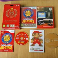 SUPER MARIO ALL-STARS 25TH ANNIVERSARY EDITION NINTENDO WII PAL GAME COMPLETE