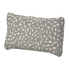 Ikea Vallentuna Cover for back cushion - Funnarp Black/Beige 003.297.47