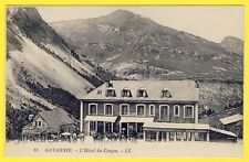 cpa 65 - GAVARNIE (Hautes Pyrénées) L'HÔTEL du CIRQUE Animé Restaurant