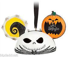 Disney Parks Jack Skellington Mickey Ear Hat Ornament Nightmare Before Christmas