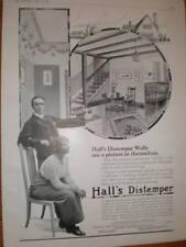 Sissons Bros Hall's Distemper UK large advert 1914