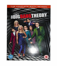 The Big Bang Theory - Series 6 - Complete (DVD, 2013, 3-Disc Set, Box Set)