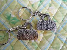 VERA BRADLEY Classic Handbag Metal KEY CHAIN Rare!