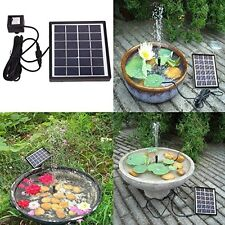 Solar Power Water Pump,SOONHUA Solar Panel Kit Water Fountain For Garden Pond