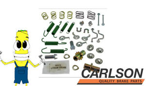 Complete Rear Parking Brake Hardware Kit for Lexus RX350 2007-2009