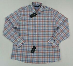NWT Men's Tommy Hilfiger Button Front Long Sleeve THFLEX Dress Shirt