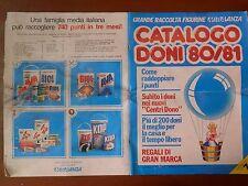 Vecchio catalogo GRANDE RACCOLTA FIGURINE MIRALANZA 1980 1981 punti n 7 BIOL KOP