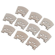 10pcs 3/4 Size Violin Bridge Maple Wood Violin Accessory