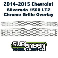 '14-15 Chevrolet Silverado 1500 LTZ Chrome Mesh Grille Insert BRAND NEW GI/124L