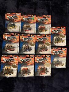 Hot Wheels NASCAR Racing 2002 Lot Of (11)