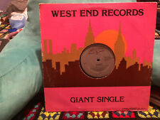 West End Records Bombers Giant Single 1978