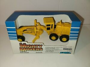 Ertl mighty movers road grader 1:64