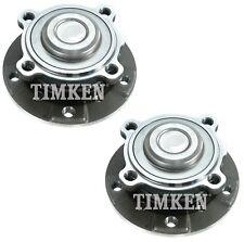 Pair Set 2 Front Timken Wheel Bearing & Hub Kits for BMW E60 E63 E90 E92 E93 RWD