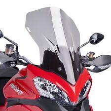 13-14 Ducati Multistrada 1200 Puig Touring Windscreen Light Smoke  6491H