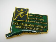 Vintage Collectible Pin: SNET Telephone Pioneers Ch 9 Special Olympics