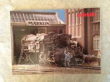 MODELLISMO FERROVIARIO CATALOGO TRENINI MARKLIN 1994/95 EDIZIONE ITALIANA