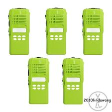 5x Green Replacement Housing for Motorola HT1250 Limited-keypad Portable Radio
